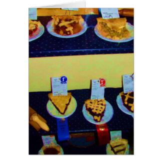 Indique a competição justa da torta, Indianapolis, Cartão Comemorativo