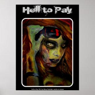 Inferno para pagar o poster