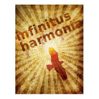 Infinitus Harmonia Cartão Postal
