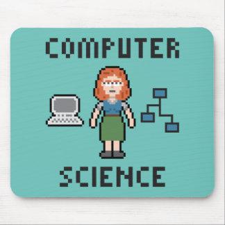 Informática do pixel - fêmea - Mousepad