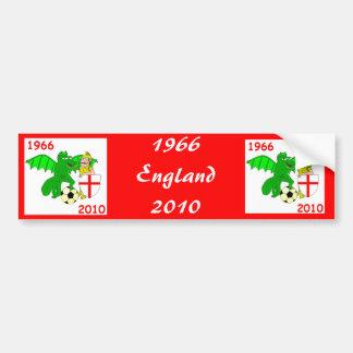 Inglaterra 1966 2010 adesivo para carro
