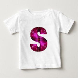 Inicial conhecida bonita S SS SSS Camiseta
