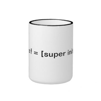 init excelente coffee mug caneca com contorno