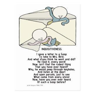 Inquisitiveness - os lodos cartões postais