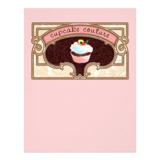 Insecto cor-de-rosa do estilo do vintage do Coutur Flyer 21.59 X 27.94cm
