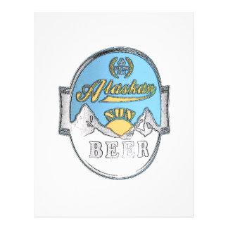 insecto do Alasca da cerveja do sol Flyer 21.59 X 27.94cm