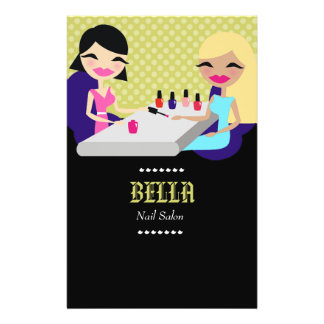 insecto do salão de beleza do prego 311-Bella Panfleto Personalizado