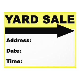 Insecto/sinal da venda de jardim panfleto personalizado