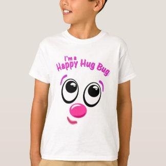 Inseto feliz do abraço camiseta
