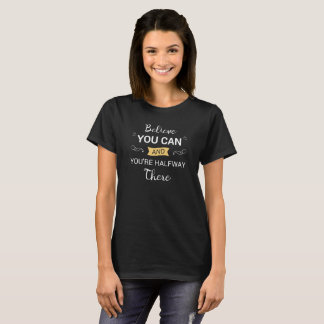 Inspirar acredita que você pode citar a camisa de