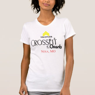 Instrutor-Senhoras de CFO Tshirts