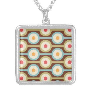 Íntegro luminoso agradável afiado colar com pendente quadrado