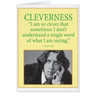 Inteligência Cartão Comemorativo