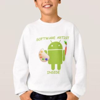 Interior do artista do software (paleta da escova camisetas