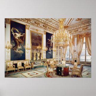 Interior do DES Quatre Saisons do salão de beleza Poster