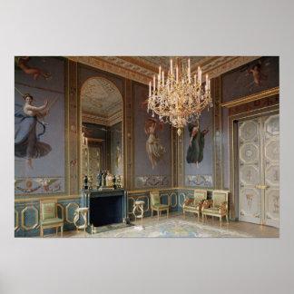 Interior do salão de beleza de Musique Poster