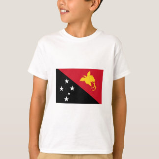 International da BANDEIRA de Papuá-Nova Guiné Camisetas