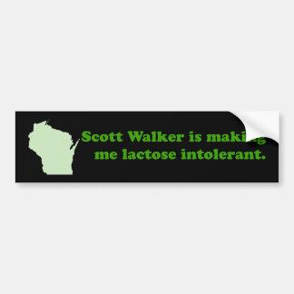 Intolerância do caminhante de Scott Adesivo Para Carro