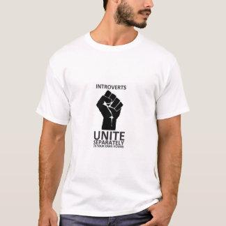 Introverts unem-se! separada em nossas próprias t-shirt