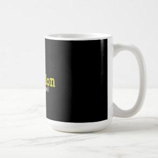 intuição (gps humanos) caneca de café