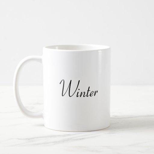 Inverno Canecas