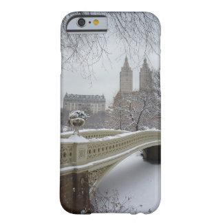 Inverno - Central Park - Nova Iorque Capa Barely There Para iPhone 6