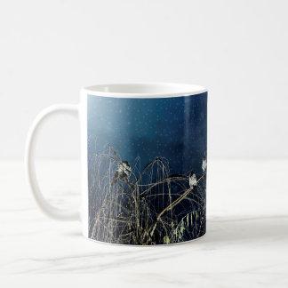 Inverno dos pássaros caneca de café