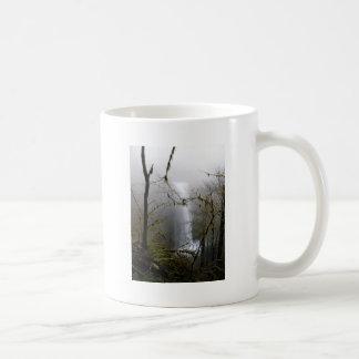 Inverno nas quedas caneca de café