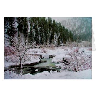 Inverno nos cartões de Wenatchee