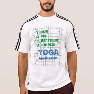 IOGA seu próprio texto afirmado grandeza da Tshirt
