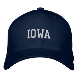 Iowa bordou o marinho do boné de lãs de Flexfit