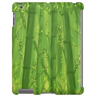 iPad de bambu verde mal Capa Para iPad