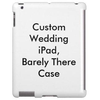 iPad feito sob encomenda do casamento, mal lá caso