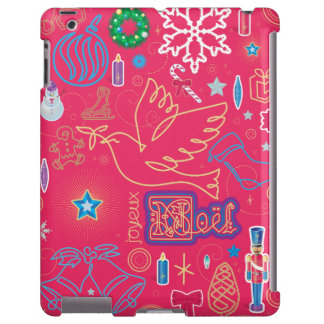 iPad icónico do Natal, mal lá Capa Para iPad