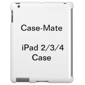 iPad personalizado 2, do CaseMate caso 3, & 4 Capa Para iPad