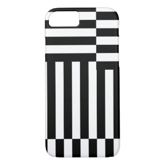 """IPHONE5 CASO CHIQUE """"YIPES-STRIPES """" CAPA iPhone 7"""