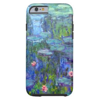 iPhone 1915 dos lírios de água de Monet 6 Capa Tough Para iPhone 6