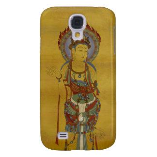 iPhone 3G/3GS - Bambu Backg de Buddha da mandala Galaxy S4 Cover