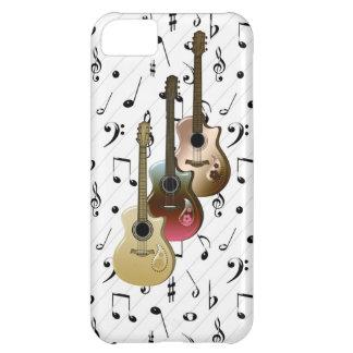 iPhone 5 da case mate das guitarra do jogador de Capa Para iPhone 5C