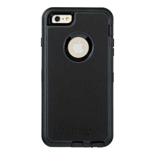 Custom OtterBox iPhone 6 Plus Série Defender Case, Preto