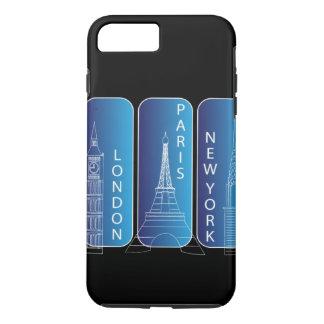 iPhone 7 de New York, Londres, Paris resistente Capa iPhone 7 Plus