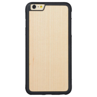 iPhone abundante de madeira 6/6s mais o caso Capa Bumper Para iPhone 6 Plus De Bordo, Carved