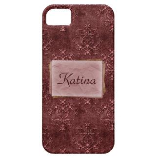 iPhone cor-de-rosa 5 da case mate do impressão da Capa Para iPhone 5