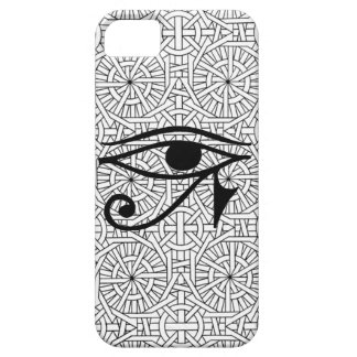 iPhone egípcio 5 da case mate do olho & do teste Capa Barely There Para iPhone 5