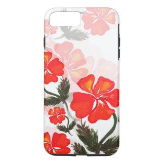 iPhone floral 7 positivo, capa de telefone