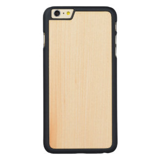iPhone magro de madeira 6/6s mais o caso Capa Slim Para iPhone 6 Plus De Bordo, Carved