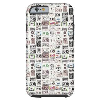 iPhone RETRO 6/6s das GAVETAS, resistente Capa Tough Para iPhone 6