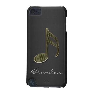 Ipod touch da nota da música do monograma capa para iPod touch 5G