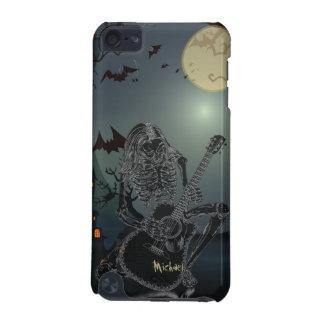 Ipod touch de esqueleto 5 do cantor do guitarrista capa para iPod touch 5G