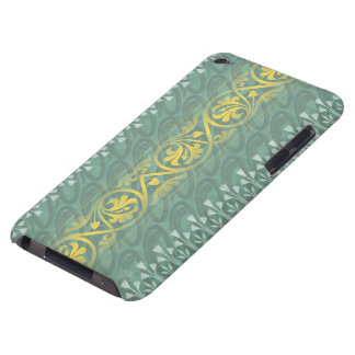 Ipod touch elegante da case mate do damasco da capa para iPod touch